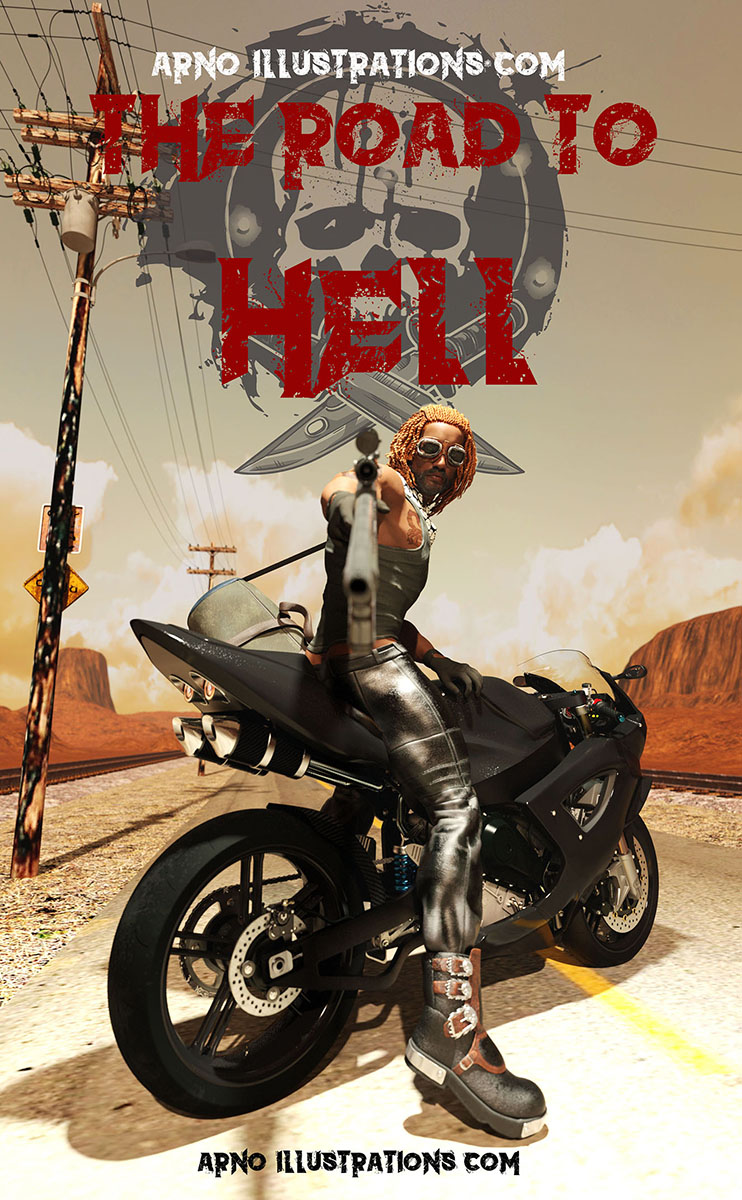 the-road-to-hell-premade-e-book-cover