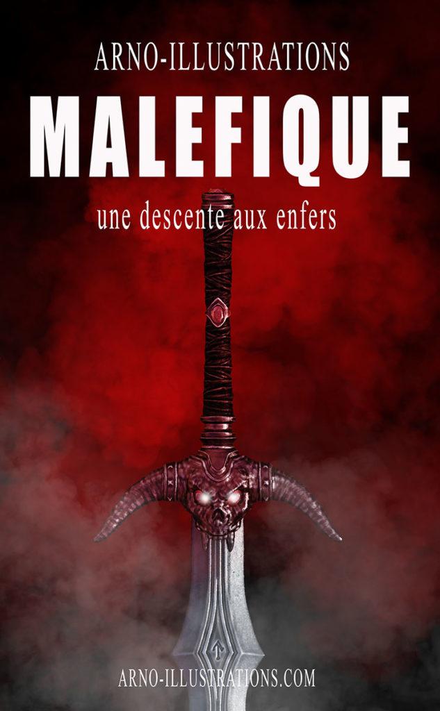 arno-illustration epee malefique-premade-e-book-cover