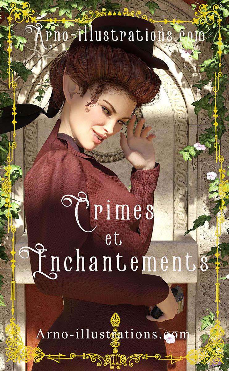 Crimes-et-enchantements-premade-e-book-cover