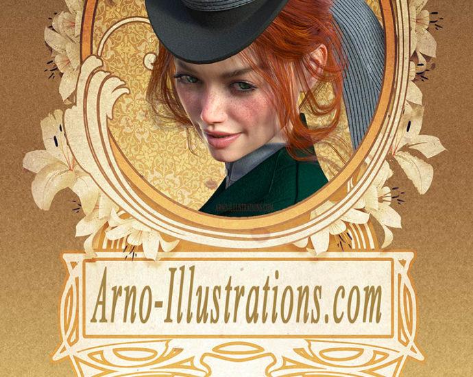 les enquetes fantastiques de Masha Marlowpremade-e-book-cover