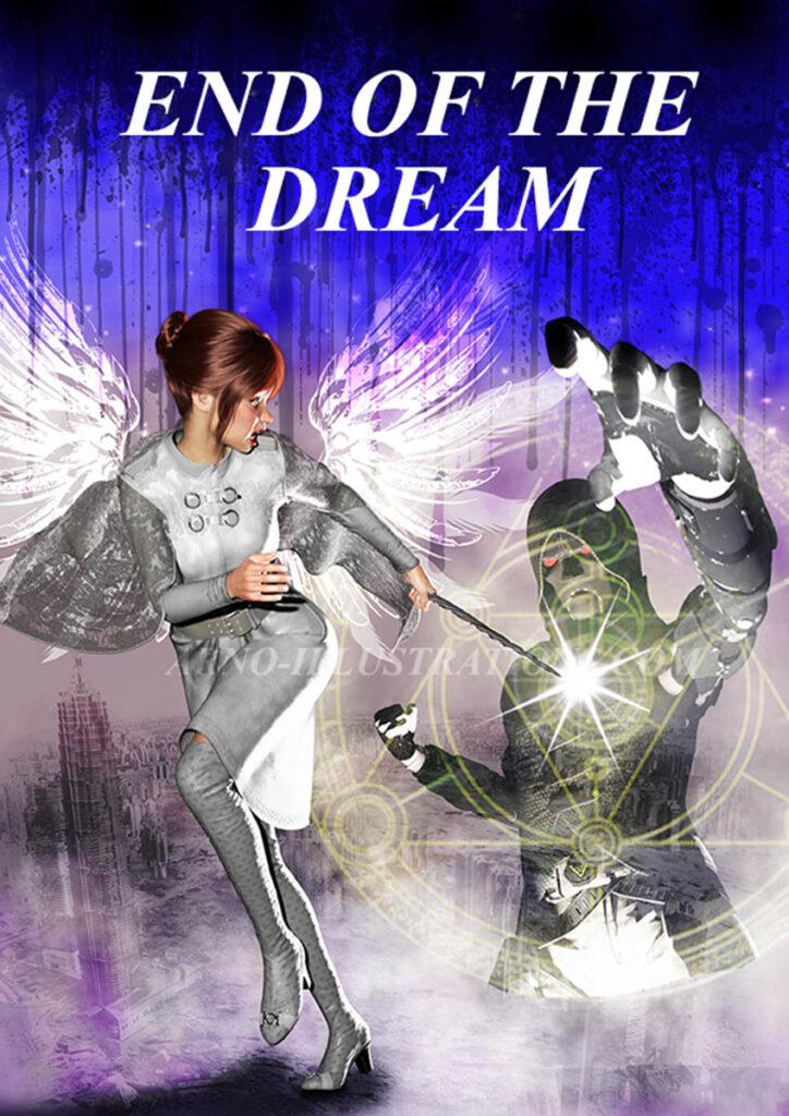 book cover design - Illustration