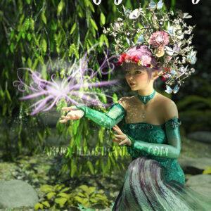 faerie bookcover design