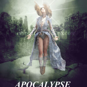 apocalypse messiah book cover design