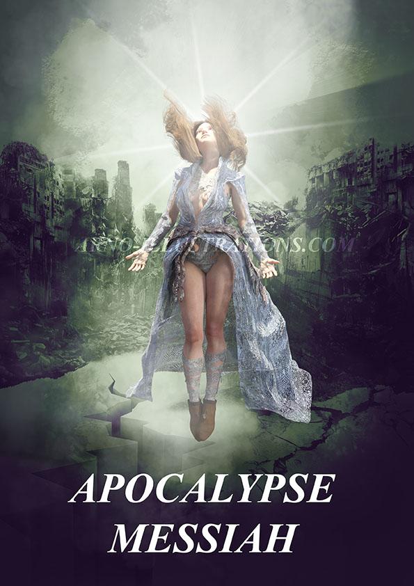 apocalypse messiah book cover design
