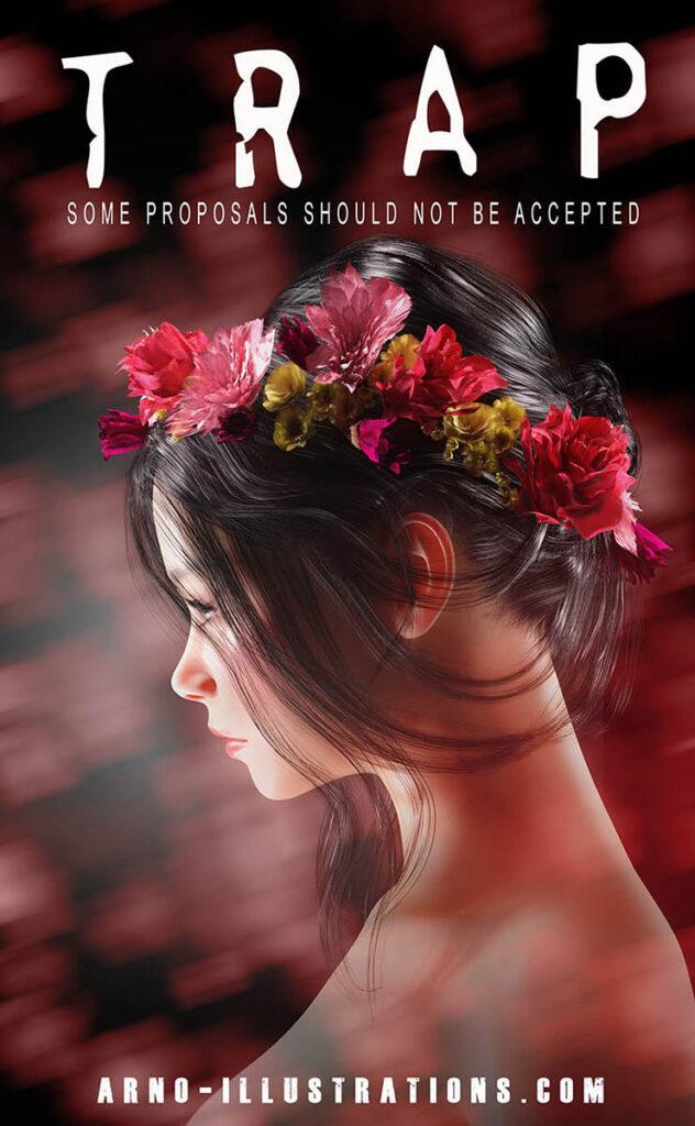 Floral design - Headpiece