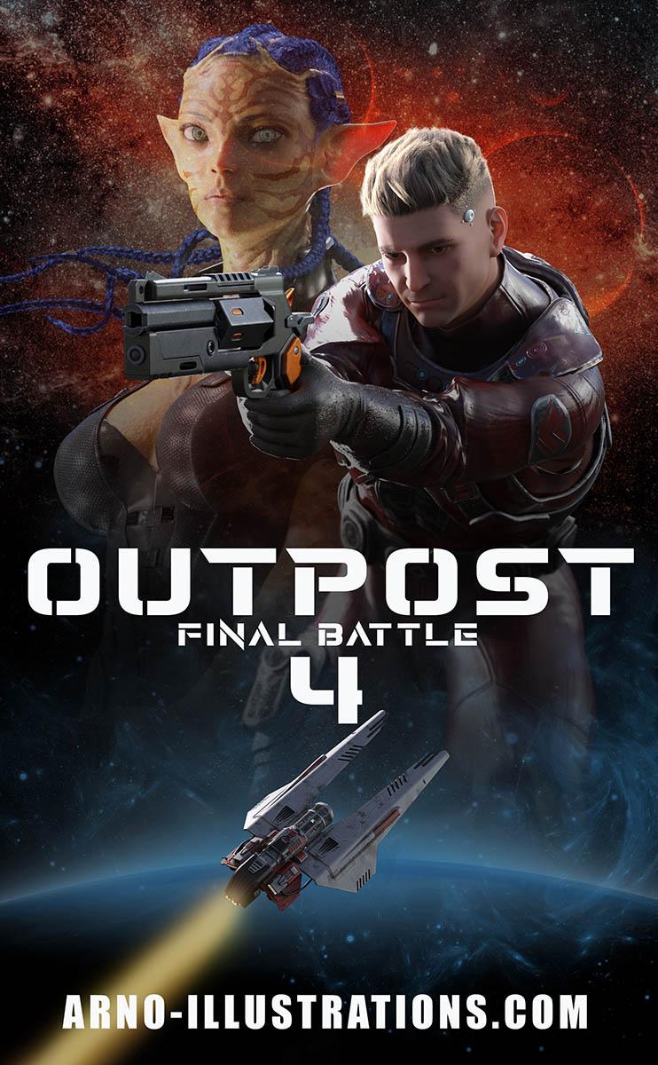 sci-fi book cover art