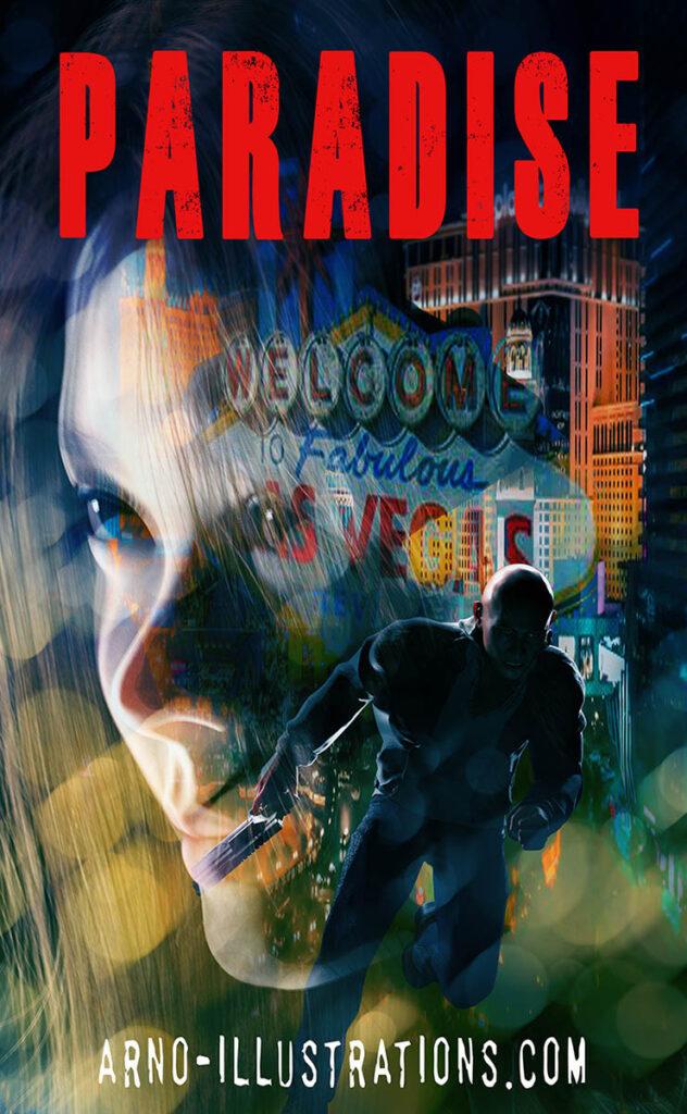 illustration couverture de livre thriller